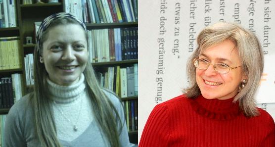 Razan Zaitouneh and Anna Politkovskaya