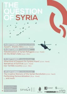 The Question of Syria 2015